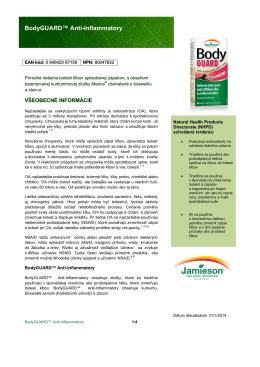 BodyGUARD™ Anti-Inflammatory