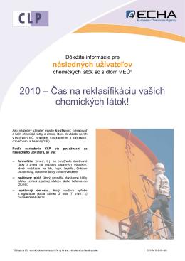 CLP DU_sk - ECHA