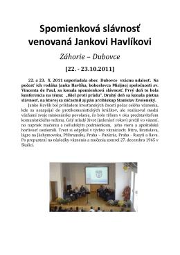 Janko Havlík - Vincentini.sk