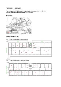 administratívna budova par.č. 34-128