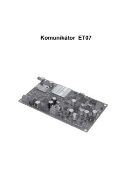 Komunikátor ET07