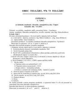Zápisnica z OZ konaného 05.12.2013 (pdf, 163 kB)