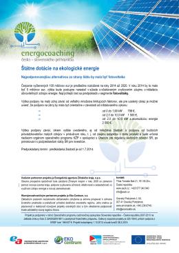 03_Dotácie na ekologické energie - Eko