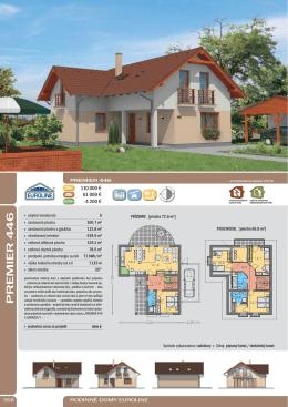 PREMIER 446 - Rodinné domy EUROLINE