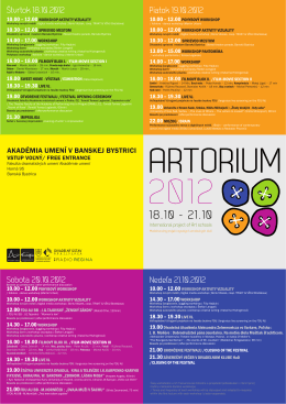 artorium 2012new