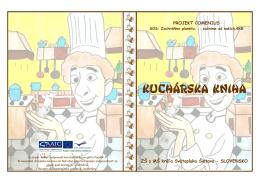 kuchárska Kniha - ZŠ s MŠ kráľa Svätopluka Šintava