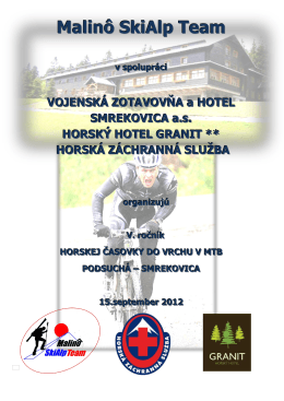 Smrekovica - Malinô SkiAlp Team