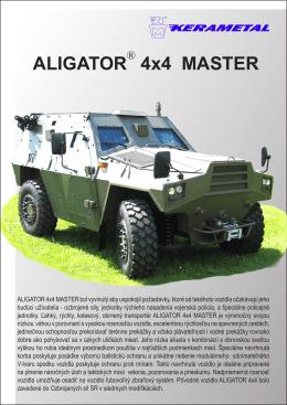 ALIGATOR 4x4 MASTER