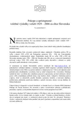 Vladimír Krivý - Forum Historiae