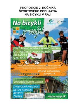 propozície - Slovenský cykloklub