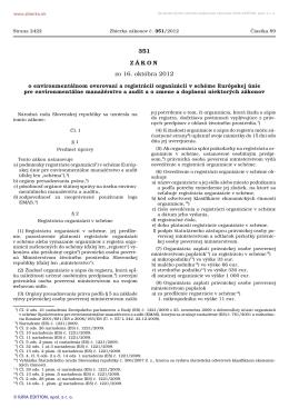 351/2012 - Slovenská agentúra životného prostredia