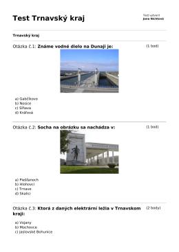 Test Trnavský kraj