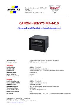 CANON i-SENSYS MF-4410