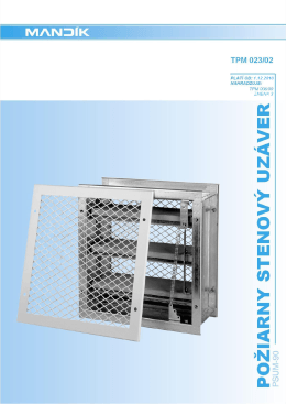 Technické podklady (PDF)