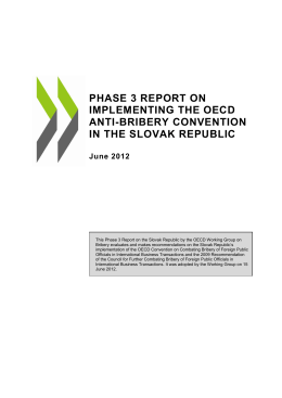 phase 3 report on implementing the oecd anti