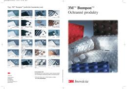 3M Ochranné produkty Bumpon