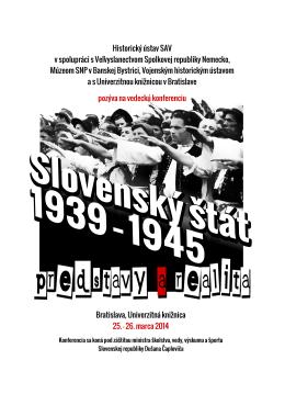 Bratislava, Univerzitná knižnica 25. – 26. marca 2014 Historický