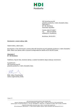 Zmena adresy sídla k 1.4.2012 (PDF, 80KB)