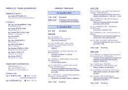 Slovenský komitét IAWQ - ASPEK-u