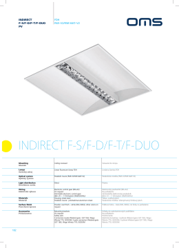 INDIRECT F-S/F-D/F-T/F-DUO