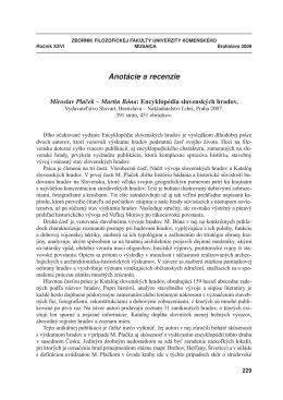11 Jaššo/Krekovič - Univerzita Komenského