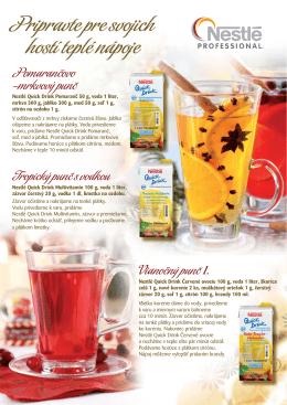 Pomarancovo - Nestle Professional