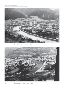 Historické a súčasné pohľady na obec