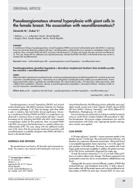 Patologie 2 zlom - česko