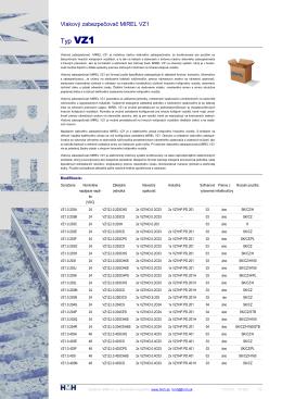 1157VZ1 S VZ1 Katalogovy list
