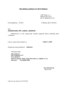 AMP Projekt s.r.o., SNV