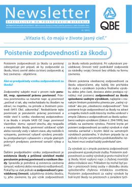 QBE Newsletter 6/2012