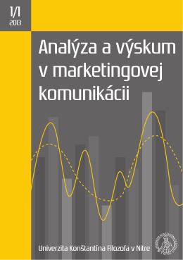 1. vydanie(.PDF) - Katedra masmediálnej komunikácie a reklamy