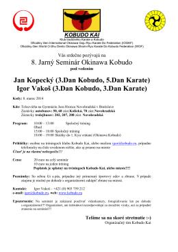 KOBUDO KWAI - Karate klub Vysočina