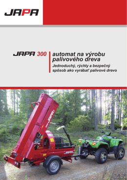 300 automat na výrobu palivového dreva