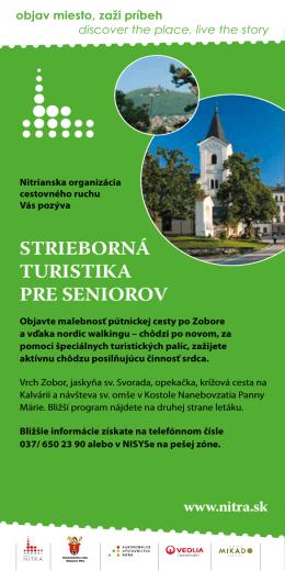 STRIEBORNÁ TURISTIKA pRE SENIOROv