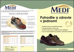Katalóg obuvi MEDI