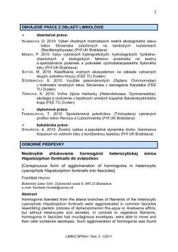 Hindák F. - limnospol.sk
