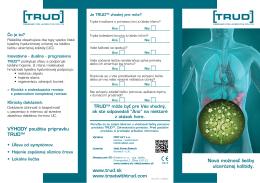 Nová možnosť liečby ulceróznej kolitídy. VÝHODY použitia