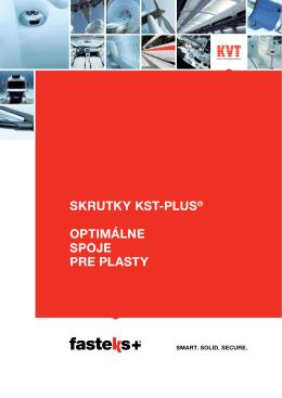 FASTEKS+ KST-PLUS® Skrutky | KVT