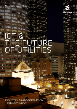 ICT & the future of utilities