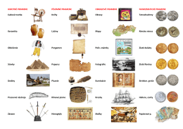 HMOTNÉ PRAMENE Ľudová tvorba Keramika Oblečenie Stavby