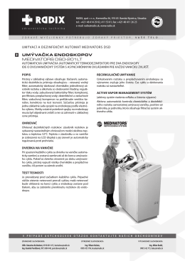 Medivátors DSD 2O1LT
