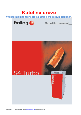 Stiahnite si Technický list S4 Turbo v PDF