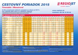 Nový cestovný poriadok platný od 14. 12. 2014 (pdf)