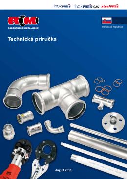 Technická príručka - Raccorderie Metalliche S.p.A.