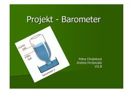 Projekt - Barometer