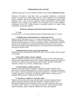 EPO dišt. požiadavky na skúšku