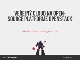Veřejný cloud na open- source platformě OpenStack
