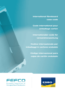 International fibreboard case code Code