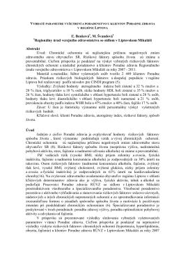 Informácia - RÚVZ so sídlom v Liptovskom Mikuláši
